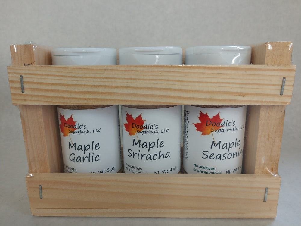 Savory Maple Seasoning Trio Gift Set