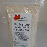 Maple Sugar & Oatmeal Pancake Mix
