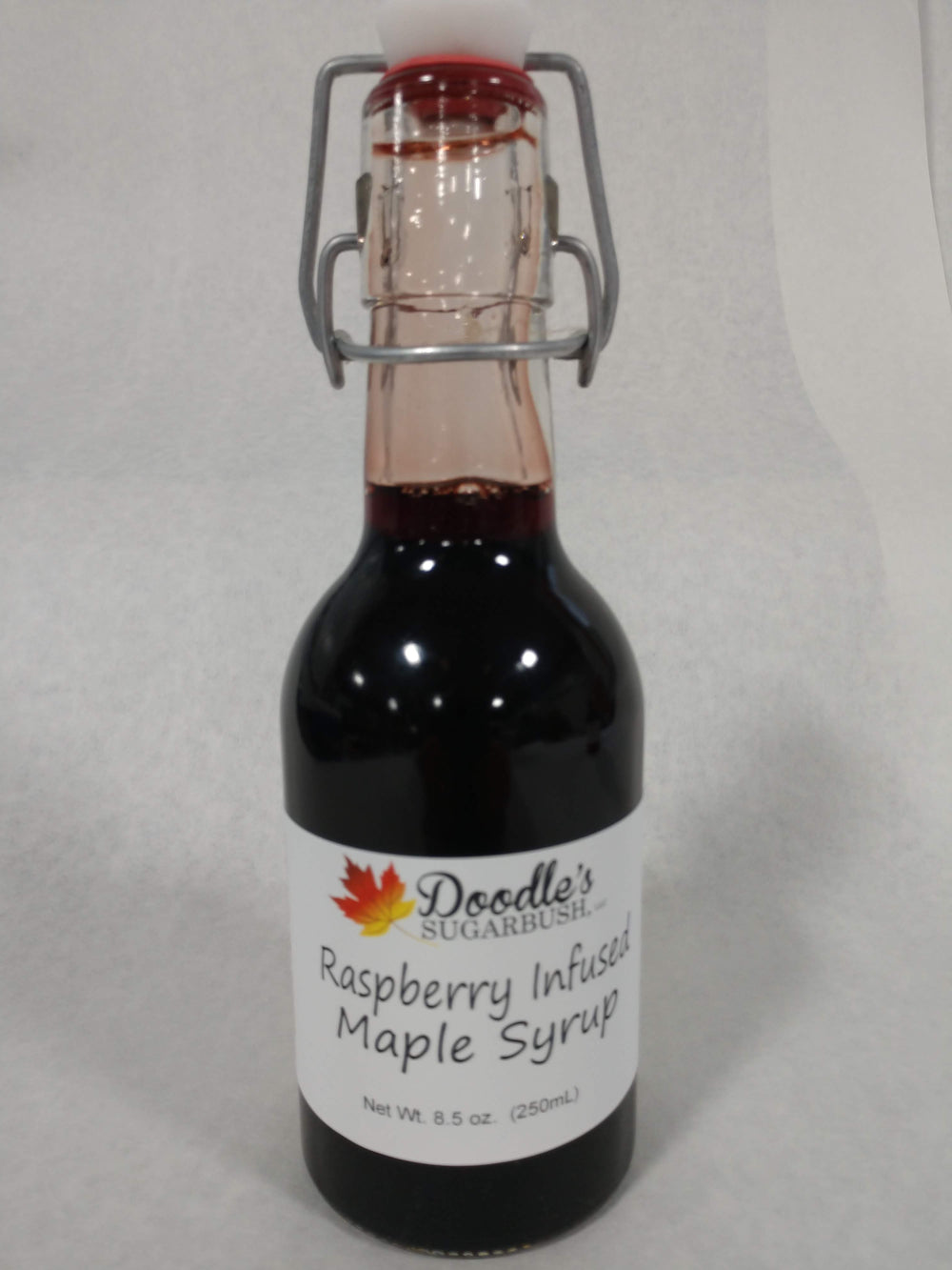 Raspberry Infused Maple Syrup