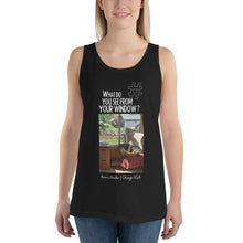 Load image into Gallery viewer, Anne's Window | Chicago, USA | Unisex Tank Top