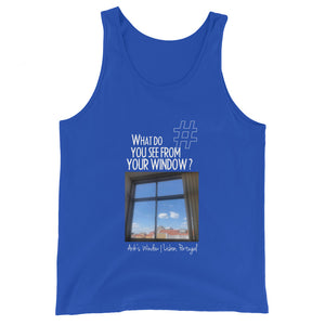 Arik's Window | Lisbon, Portugal | Unisex Tank Top