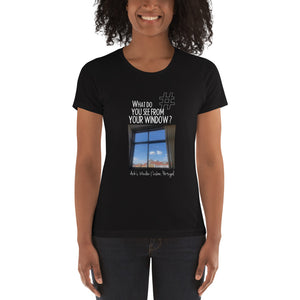 Arik's Window | Lisbon, Portugal | Women's T-shirt