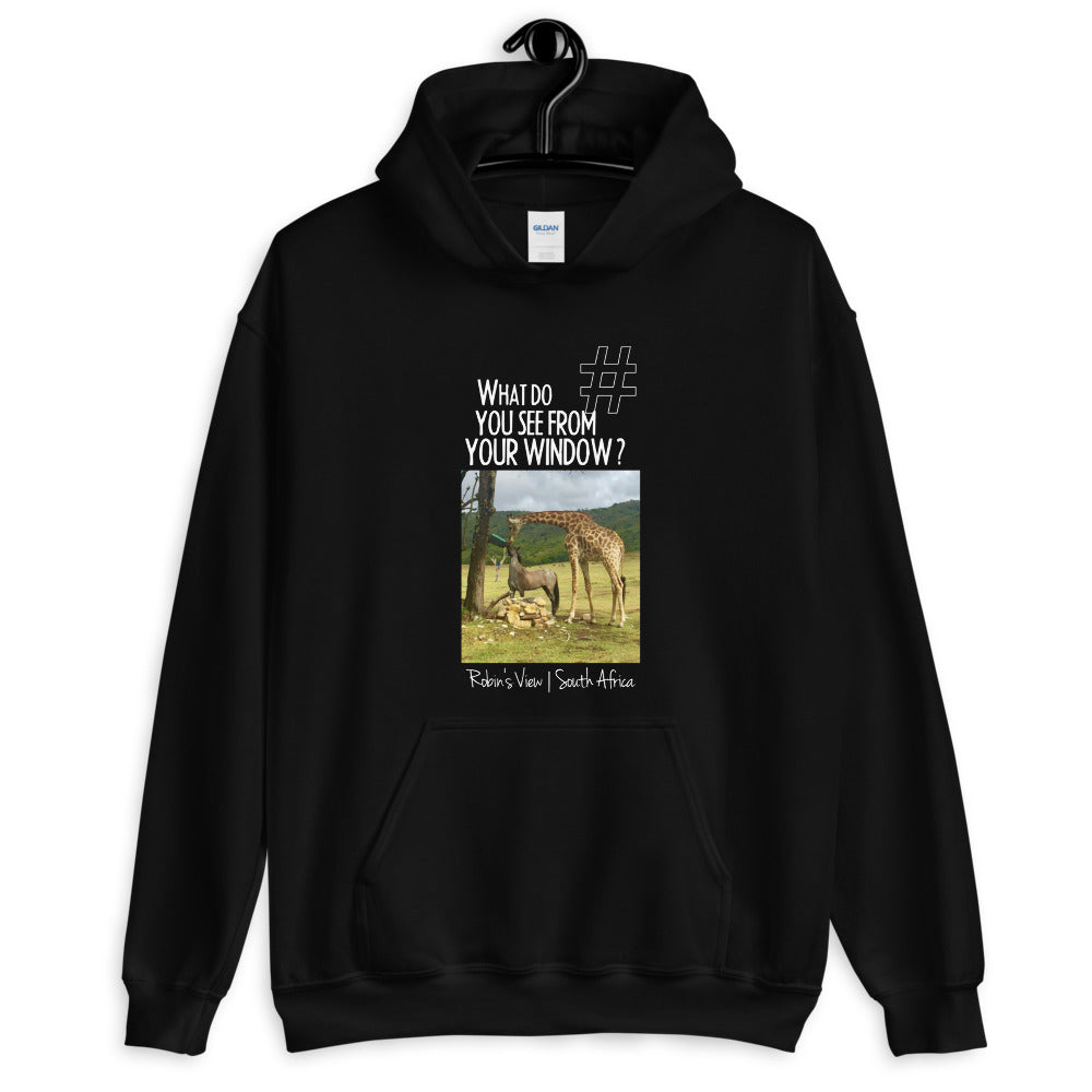 Robin's View | South Africa | Unisex Hoodie
