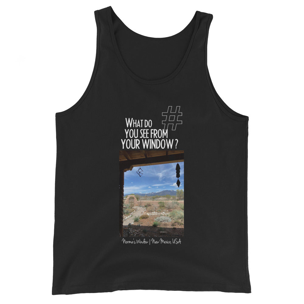 Norma's Window | New Mexico, USA | Unisex Tank Top