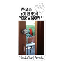 Load image into Gallery viewer, Rhonda's View | Australia | Kiss Cut Sticker