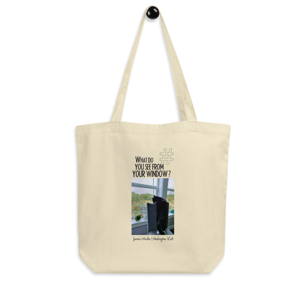 Janine's Window | Washington, USA | Tote Bag