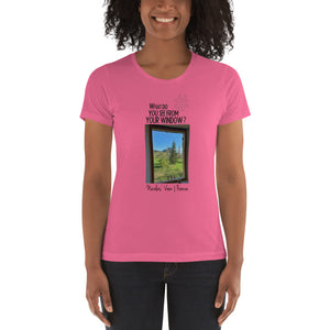 Nicolas' View | France | Women's T-shirt