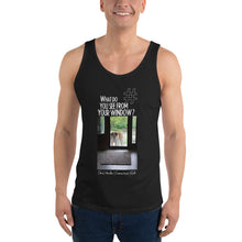 Load image into Gallery viewer, Chris' Window | Connecticut, USA | Unisex Tank Top