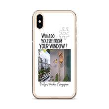 Load image into Gallery viewer, Evelyn's Window | Singapore | iPhone Case