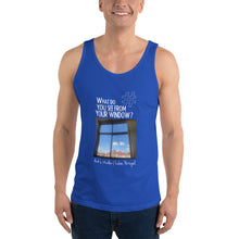 Load image into Gallery viewer, Arik's Window | Lisbon, Portugal | Unisex Tank Top