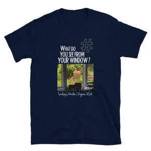 Lindsey's Window | Virginia, USA | Unisex T-shirt
