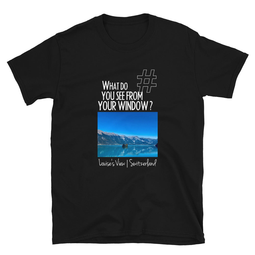 Louise's View | Switzerland | Unisex T-shirt