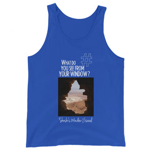 Shoshi's Window | Israel | Unisex Tank Top
