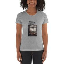 Load image into Gallery viewer, Martinus Rørbye's Window | Painting (1825) | Denmark | Women's T-shirt