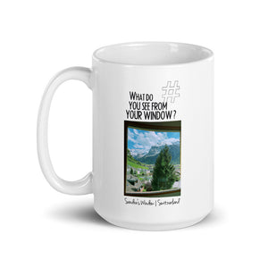 Sandra's Window | Switzerland | Mug