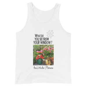 Ana's Window | Romania | Unisex Tank Top