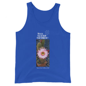 Sharon's View | California, USA | Unisex Tank Top