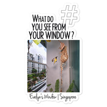 Load image into Gallery viewer, Evelyn's Window | Singapore | Kiss Cut Sticker