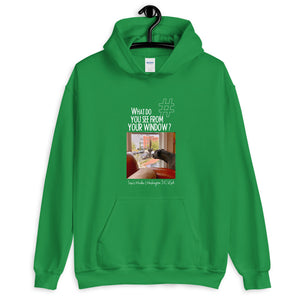 Lisa's Window | Washington DC, USA | Unisex Hoodie