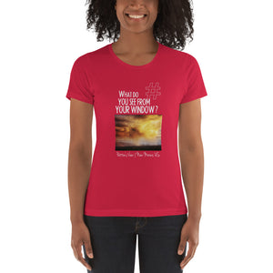 Pattie's View | New Mexico, US | Women's T-shirt