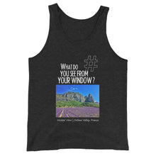 Load image into Gallery viewer, Nicolas' View | France | Unisex Tank Top
