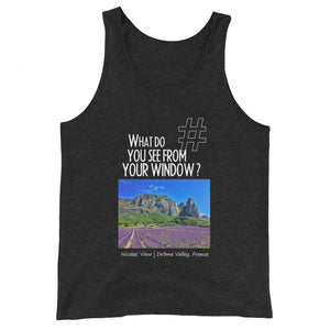 Nicolas' View | France | Unisex Tank Top