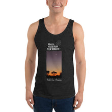 Load image into Gallery viewer, Heidi's View | Namibia | Unisex Tank Top