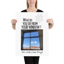 Load image into Gallery viewer, Arik's Window | Lisbon, Portugal | Poster (in)