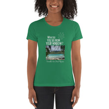 Load image into Gallery viewer, Christelle's View | French Polynesia | Women's T-shirt