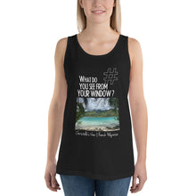 Load image into Gallery viewer, Christelle's View | French Polynesia | Unisex Tank Top
