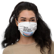 Load image into Gallery viewer, April's View | Florida, USA | Face Mask