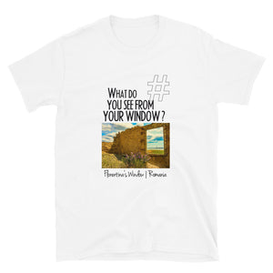 Florentina's Window | Romania | Unisex T-shirt