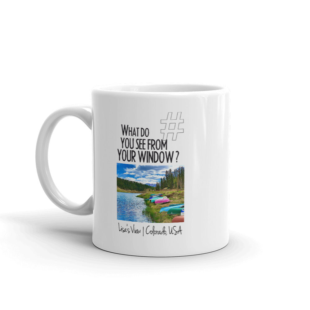 Lisa's View | Colorado, USA | Mug