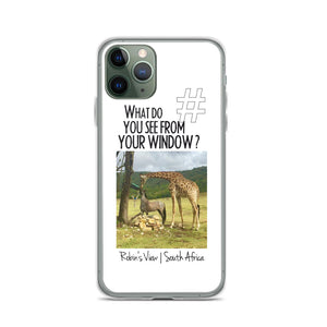 Robin's View | South Africa | iPhone Case