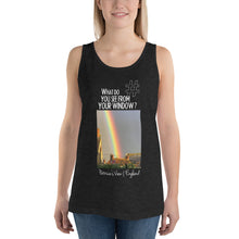 Load image into Gallery viewer, Patricia's View | England | Unisex Tank Top