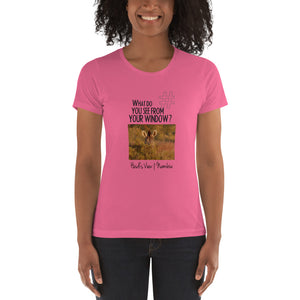 Heidi's View | Namibia | Women's T-shirt