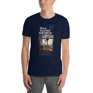 Martinus Rørbye's Window | Painting (1825) | Denmark | Unisex T-shirt