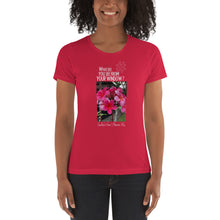 Load image into Gallery viewer, Cecilia's View | Hawaii, US | Women's T-shirt