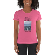 Load image into Gallery viewer, Vlatka's View | At Sea | Women's T-shirt