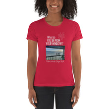 Load image into Gallery viewer, Robbie's Window | Oregon, USA | Women's T-shirt