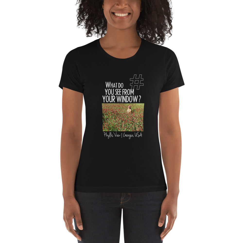 Phyllis' View | Georgia, USA | Women's T-shirt