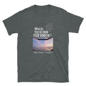 Debbie's Window | Cornwall, UK | Unisex T-shirt