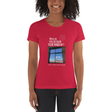 Load image into Gallery viewer, Arik's Window | Lisbon, Portugal | Women's T-shirt