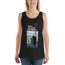 Load image into Gallery viewer, Janine's Window | Washington, USA | Unisex Tank Top