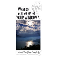 Load image into Gallery viewer, Biliana's View | Lake Como, Italy | Kiss Cut Sticker