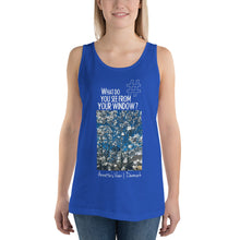 Load image into Gallery viewer, Annette's View | Denmark |  Unisex Tank Top