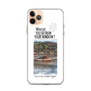 Sharon's View | Shaldon, England | iPhone Case