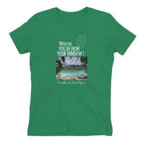 Christelle's View | French Polynesia | Women's T-shirt