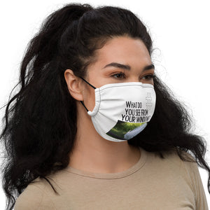 Lacra's View | Washington, USA | Face Mask