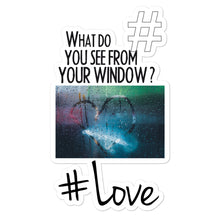 Load image into Gallery viewer, #Love | Kiss Cut Sticker